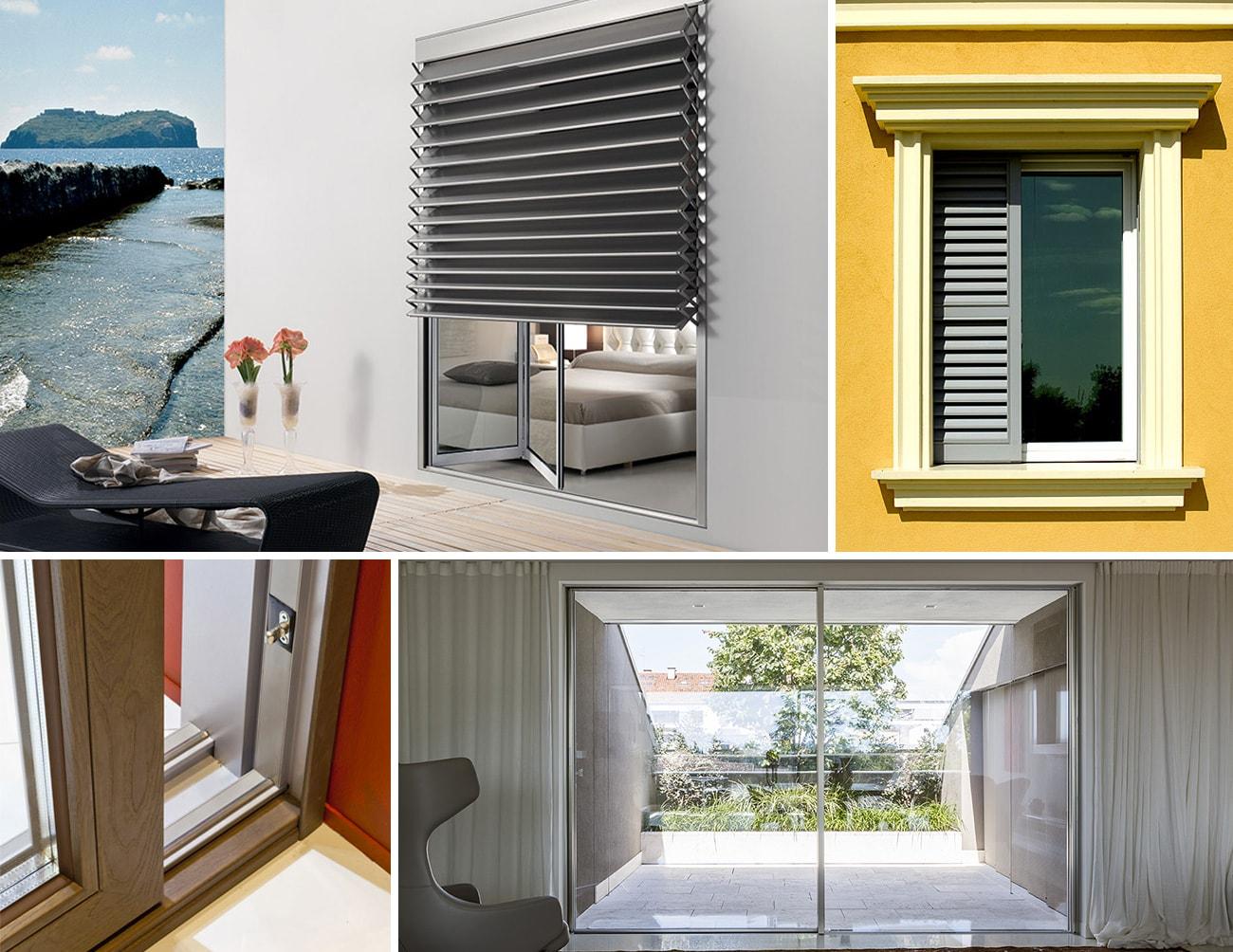 Tende Per Finestre A Ribalta poza - serramenti e tendaggi: finestre, balconi, persiane
