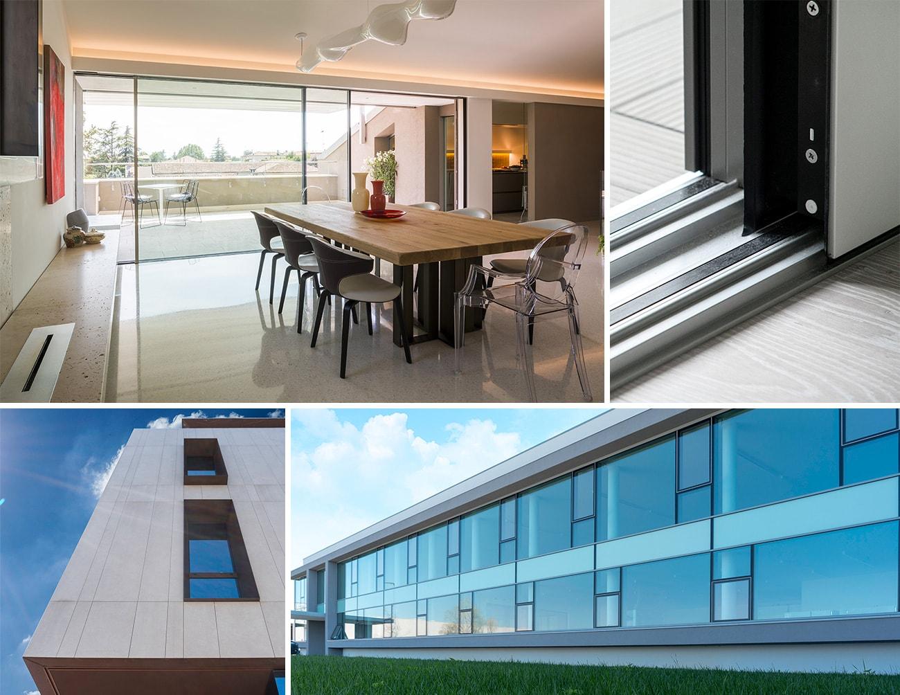 Tende Per Finestra Balcone : Poza serramenti e tendaggi finestre balconi persiane frangisole
